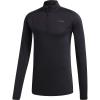 Adidas Men's Terrex Tracerocker 1/2 Zip Top - Medium - Black