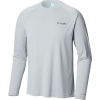 Columbia Men's Cast Away Zero II Knit LS Shirt - Medium - Cool Grey