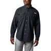 Columbia Men's Bahama II LS Shirt - 1X - Black