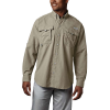 Columbia Men's Bahama II LS Shirt - 1X - Fossil