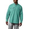 Columbia Men's Bahama II LS Shirt - 1X - Gulf Stream