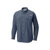 Columbia Men's Bahama II LS Shirt - 1X - Dark Mountain