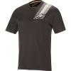Alpine Stars Men's Alps 4.0 SS Jersey - Medium - Melange Dark Gray / Black