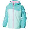 Columbia Youth Mountain Side Lined Windbreaker Jacket - XL - Gulf Stream / Geyser