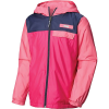 Columbia Youth Mountain Side Lined Windbreaker Jacket - Large - Haute Pink / Wild Geranium