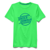 Under Armour Boy's Coolswitch Thermocline SS Crew - XL - Laser Green / Elemental