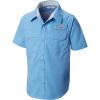Columbia Boys' Low Drag SS Shirt - XS - White Cap