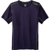 Brooks Men's Ghost SS Top - Small - Navy/Nightlife