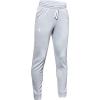 Under Armour Boys' Armour Fleece Jogger - Small - Mod Gray / White