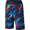 Columbia Boys' Sandy Shores Boardshort - Small - Collegiate Navy Geo