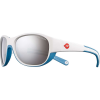 Julbo Kids' Luky Sunglasses - One Size - White/Blue/Spectron 3+