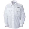 Columbia Youth Boys' Bahama LS Shirt - Medium - White