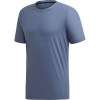 Adidas Men's Agravic Parley Tee - Small - Tech Ink