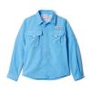 Columbia Youth Boys' Bahama LS Shirt - Medium - Yacht