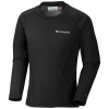 Columbia Youth Midweight Crew 2 LS Top - Small - Black B