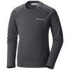 Columbia Youth Midweight Crew 2 LS Top - Medium - Black G