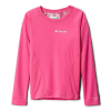 Columbia Youth Midweight Crew 2 LS Top - Large - Pink Ice