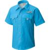 Columbia Youth Boys' Bahama SS Shirt - Small - Riptide