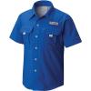 Columbia Youth Boys' Bahama SS Shirt - XL - Vivid Blue