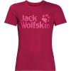 Jack Wolfskin Kids' Jungle Tee - 128 - Azalea Red