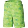 Columbia Boys' Super Backcast 5 Inch Short - XL - Green Mamba Multi Fish