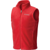 Columbia Toddlers' Boys Steens MT Fleece Vest - 2T - Mountain Red