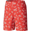Columbia Boys' Super Backcast 5 Inch Short - Small - Sunset Red Marlins