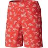 Columbia Boys' Super Backcast 5 Inch Short - Medium - Sunset Red Marlins