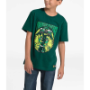 The North Face Boys' Graphic SS Tee - XS - Botanical Garden Green