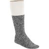 Birkenstock Men's Cotton Slub Sock - 42 - Black / Grey