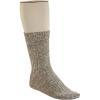 Birkenstock Men's Cotton Slub Sock - 45 - Grey / White