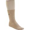 Birkenstock Men's Cotton Slub Sock - 45 - Beige / White