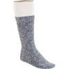 Birkenstock Men's Cotton Slub Sock - 45 - Blue / White
