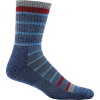 Darn Tough Kids' Via Ferrata Jr. Micro Crew Light Cushion Sock - Medium - Blue