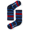Smartwool Kids' Hike Light Crew Sock - Large - Deep Navy Stripe