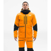 The North Face Men's Summit L5 Jacket - Large - Knockout Orange / TNF Black