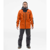The North Face Men's A-Cad Jacket - XL - Papaya Orange / Weathered Black