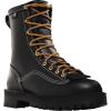 Danner Men's Super Rain Forest 200G Insulated 8IN GTX Boot - 9.5EE - Black