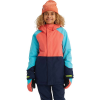 Burton Kids' GTX Stark Jacket - Small - Blue Curacao / Dress Blue / Georgia Peach