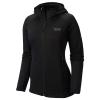 Mountain Hardwear Women's Desna Grid Hooded Jacket - Large - Black