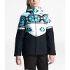 The North Face Girls' Brianna Insulated Jacket - Medium - TNF White Tribal Geo Print