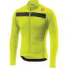 Castelli Men's Puro 3 Full Zip Jersey - Medium - Yellow Fluo