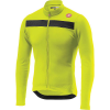 Castelli Men's Puro 3 Full Zip Jersey - Large - Yellow Fluo