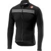 Castelli Men's Puro 3 Full Zip Jersey - Medium - Light Black