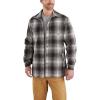 Carhartt Men's Hubbard Sherpa Lined Shirt Jac - XXL - Gravel