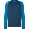 La Sportiva Men's Tour Long Sleeve Top - Small - Opal Neptune