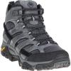 Merrell Men's MOAB 2 Mid Waterproof Boot - 12.5 Wide - Granite