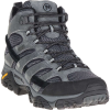 Merrell Men's MOAB 2 Mid Waterproof Boot - 14 - Granite