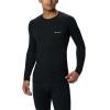 Columbia Men's Midweight Stretch Long Sleeve Top - 2XT - Black