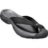 Keen Men's Waimea H2 Sandal - 12 - Black / Steel Grey